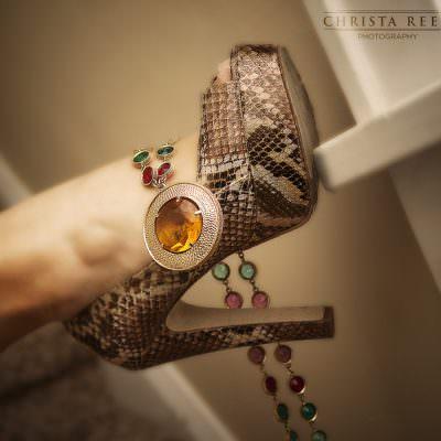 Minnesota Fashion Photography: Snake Skin and Jewels