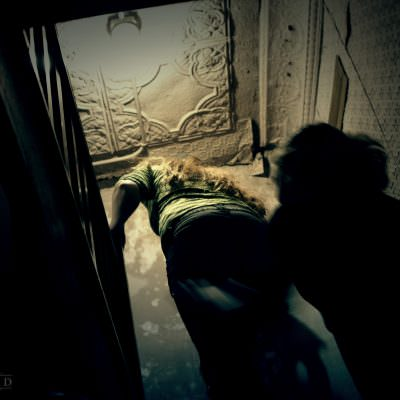 Interior Photography: Hidden Stairs