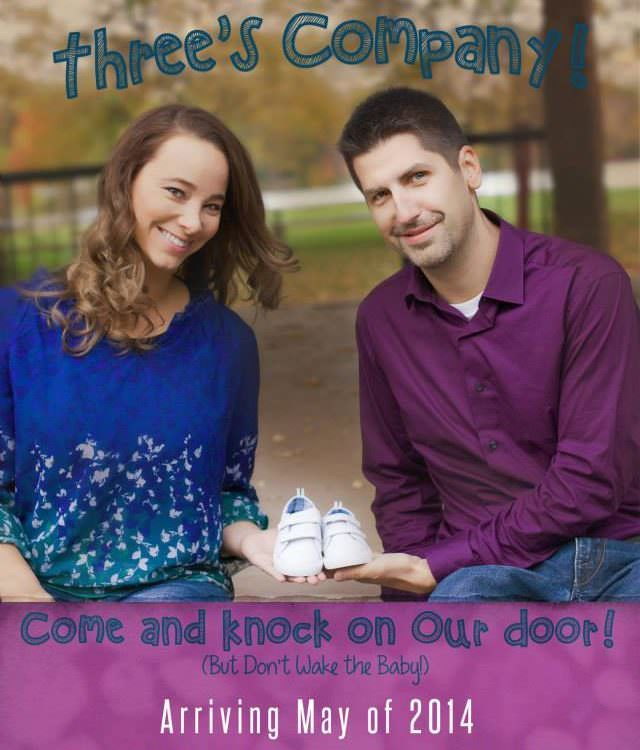 Belle Plaine Family Photographer | Baby Announcement Movie Poster