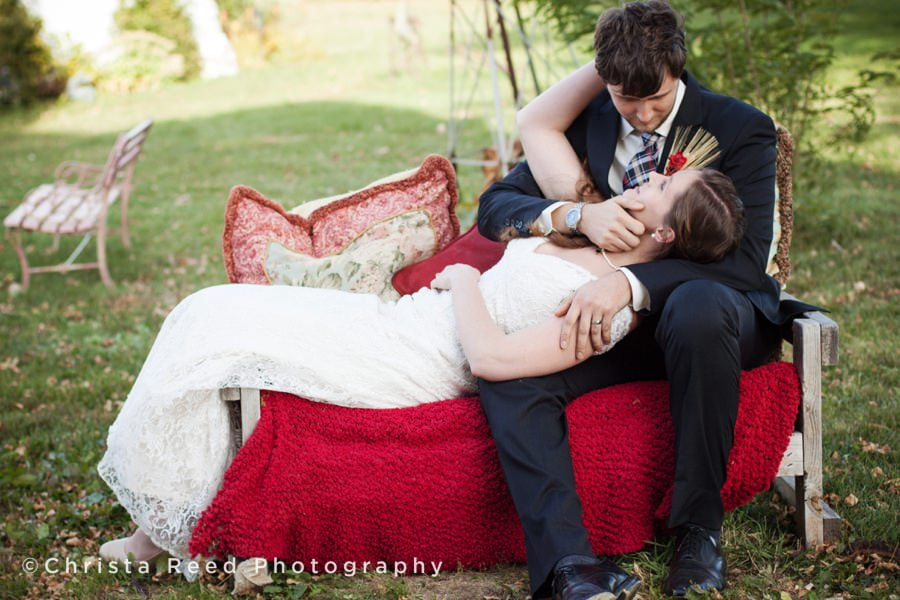 Belle Plaine Wedding Photographer | Romantic Barn Wedding