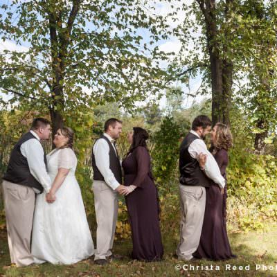 Apple Valley Wedding Photographer | Fall Wedding With Pearls & Lace