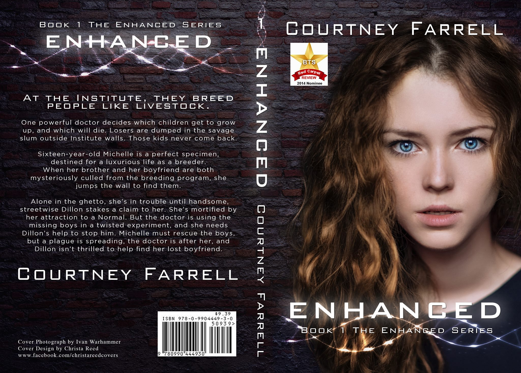 science fiction thriller book cover design