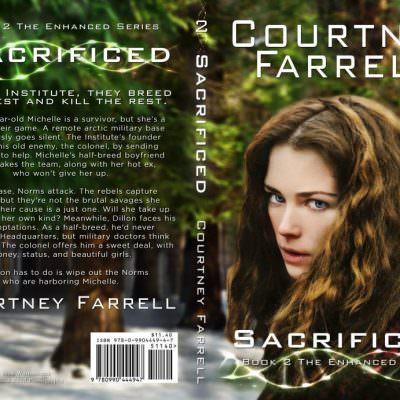 Science Fiction Thriller Book Cover Design | Minnesota Designer