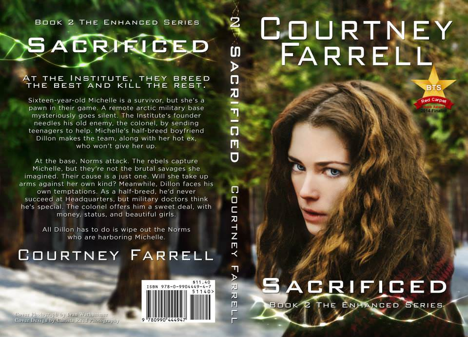 young adult sci fi book cover design