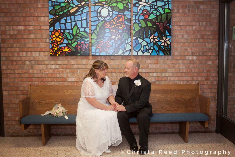 Kathleen and Steven | Intimate Church Wedding | Anoka Wedding Photography