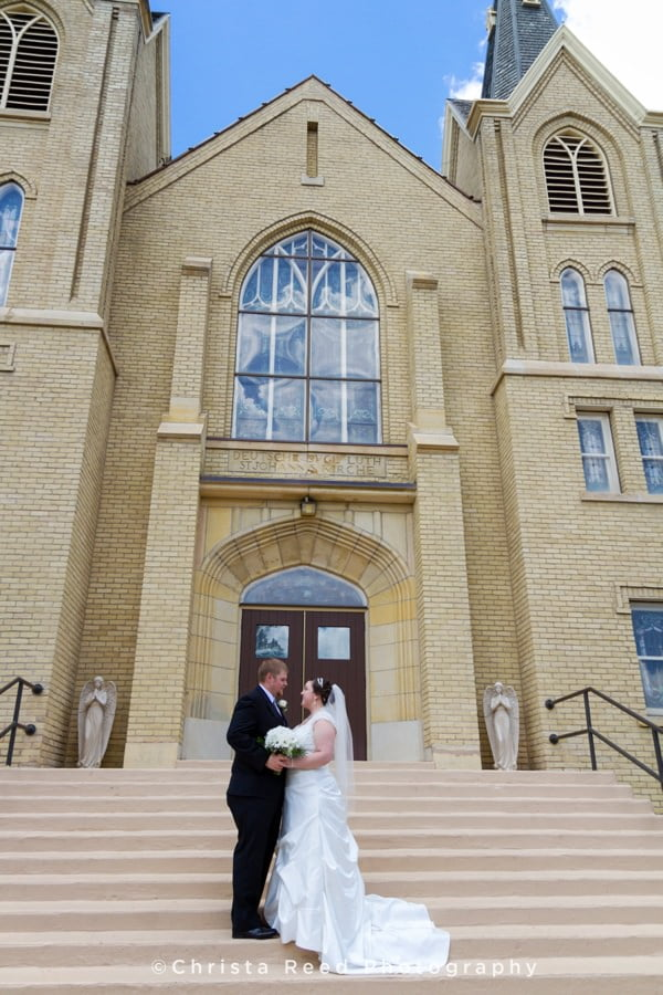 belle plaine church wedding photographer