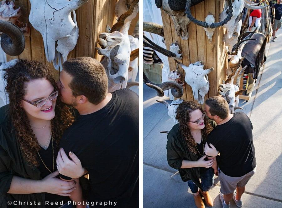 unique engagement shoot ideas- a Minnesota state fair engagement shoot