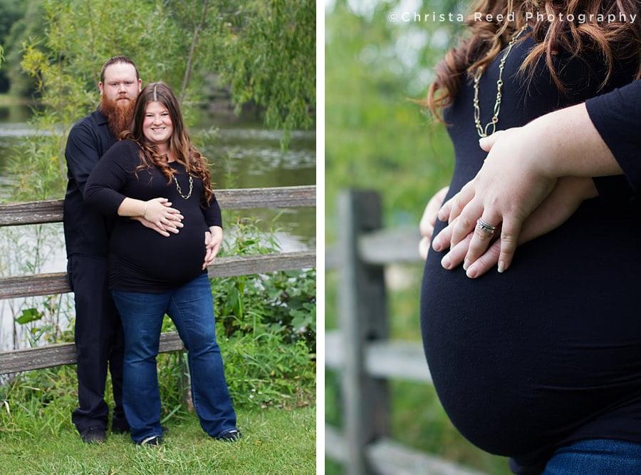Eagan, Minnesota Outdoor Maternity Photography