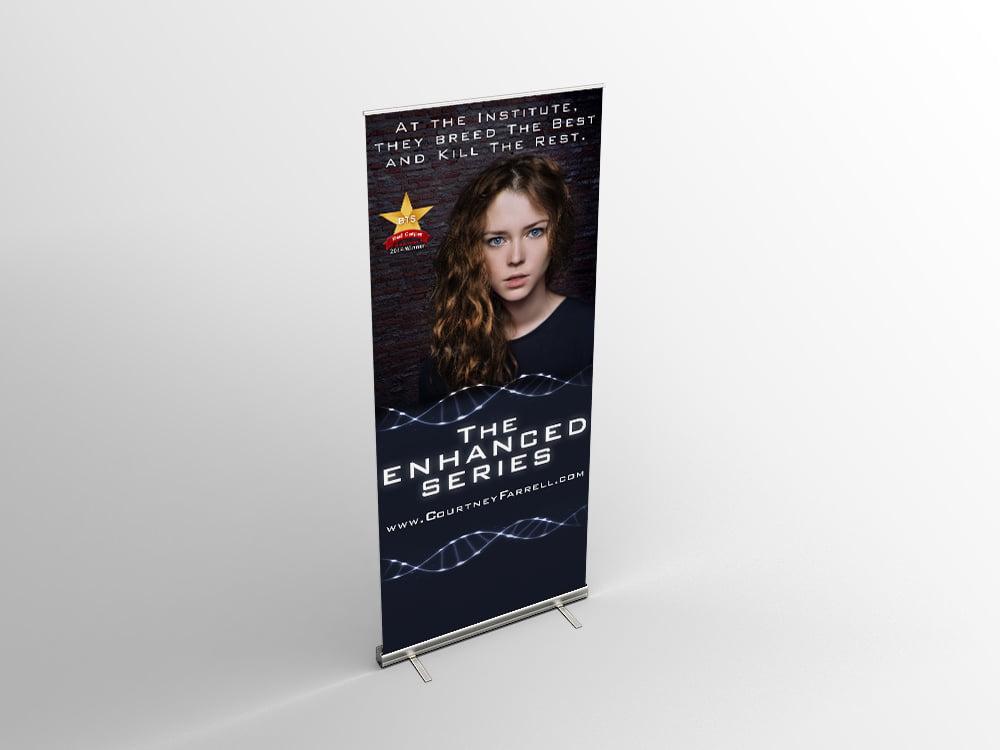 Custom Author Banner Design Indie Author
