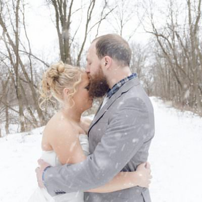 Laura & Robert | St. Paul Winter Wedding At Dakota Lodge