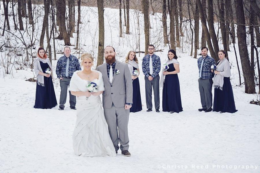 Laura and Robert's Dakota Lodge Wedding