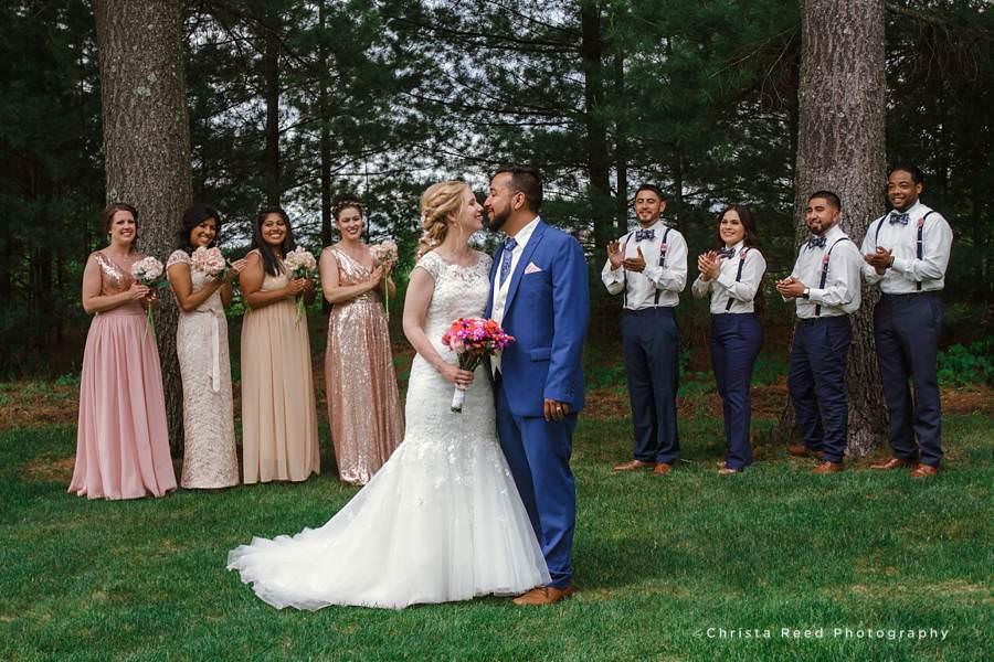 Backyard Wedding | Susie + Andy