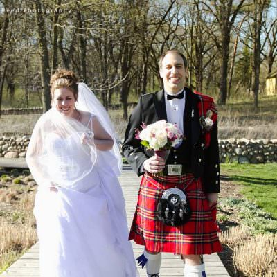 Ann and Drew's Scottish Wedding in Minnetonka