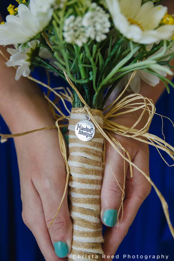harry potter mischief manage bouquet charm