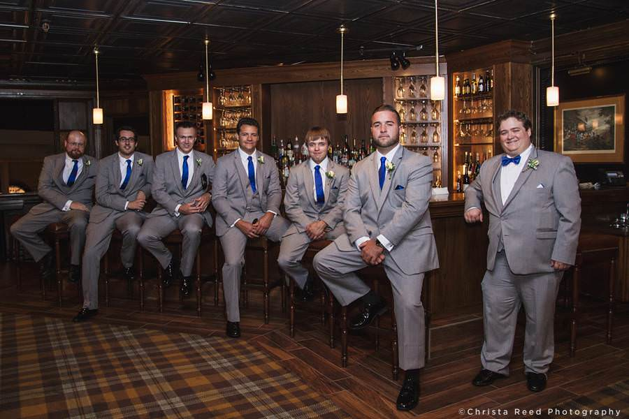 groomsmen at the bar chanhassen dinner theatres