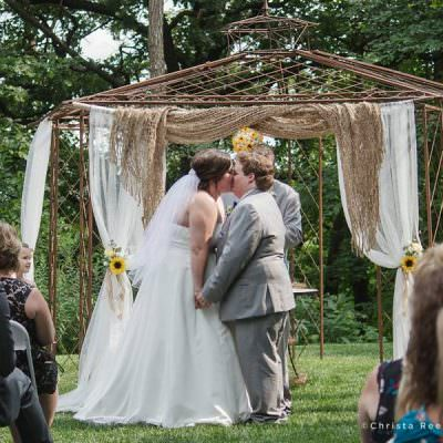 Brittany and Sean's Wedding At Chanhassen Dinner Theatre