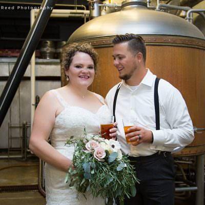 Cody & Mackenzie's St. Paul Wedding at Flat Earth Brewing