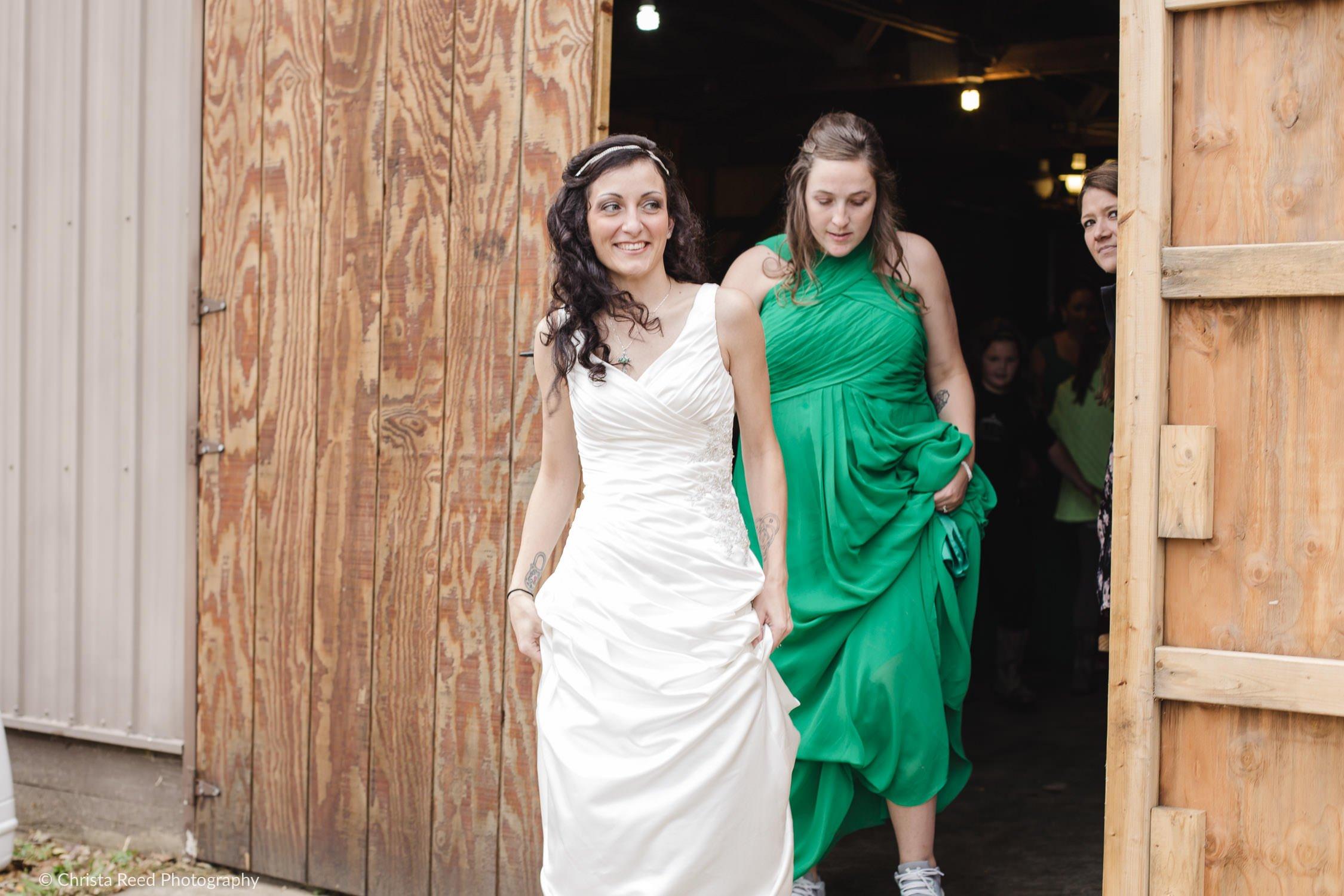 first look McGowan Farm Irish Wedding | Mankato Wedding Photographer