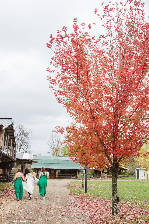 fall wedding in mankato