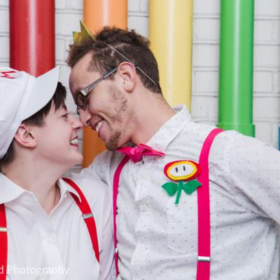 Super Mario Styled Wedding Inspiration | Can Can Wonderland & W00T Weddings