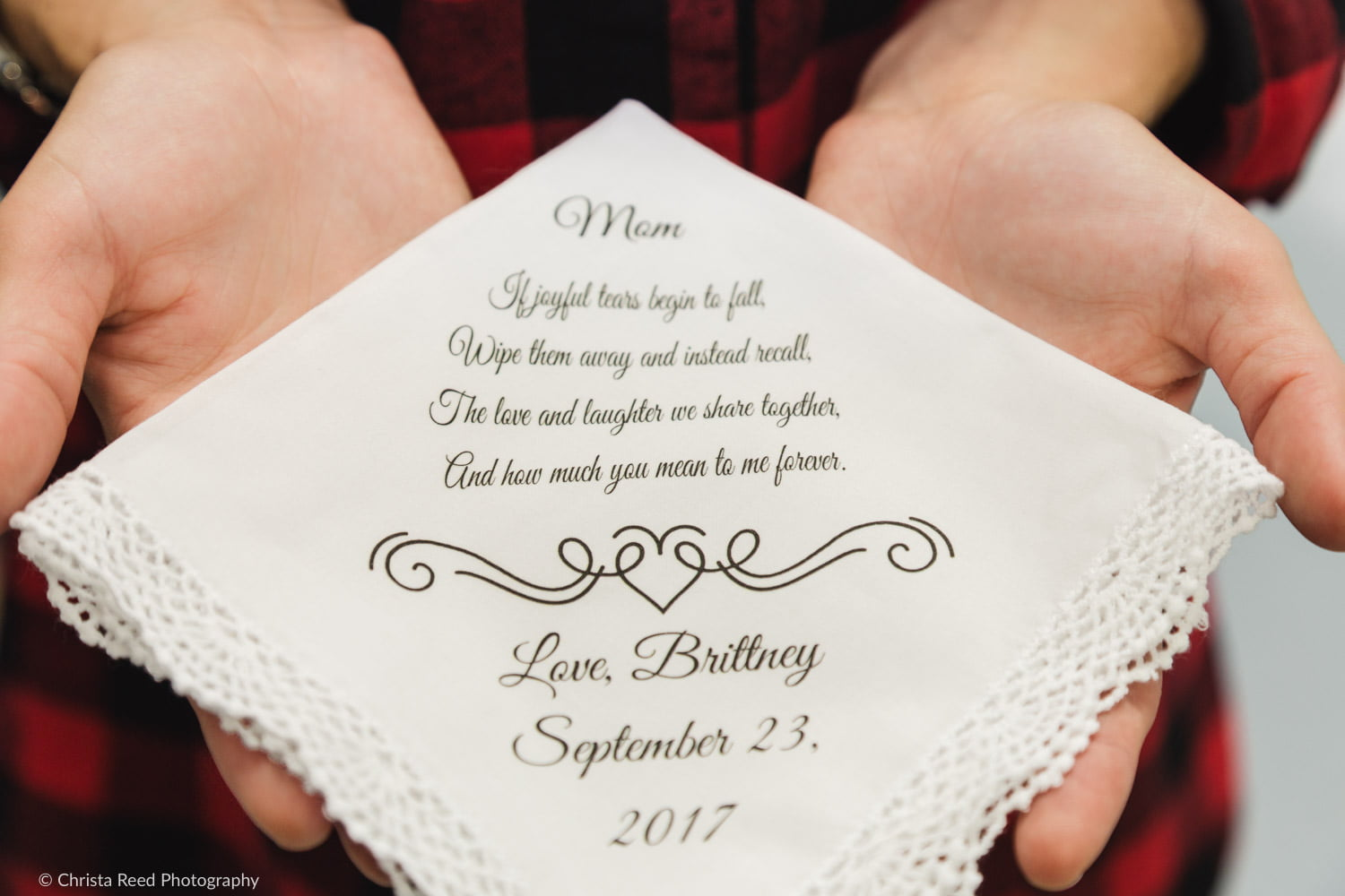 wedding day gift for mother of the bride