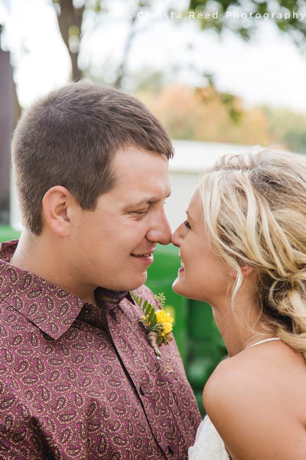 minnesota farm wedding photography