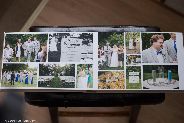 chanhassen dinner theatre and golf course wedding album by minnesota wedding photographer